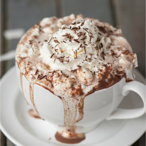 White-Chocolate Hot Cocoa With Coconut And Rum Recipe ...